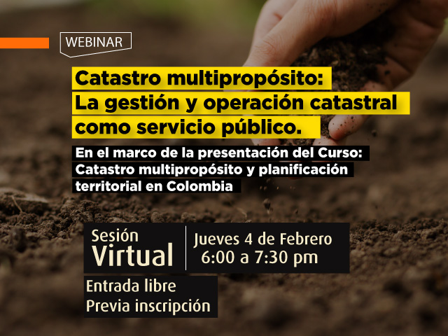 Catastro multipropósito: La gestión y operación catastral como servicio público- Cider | Uniandes