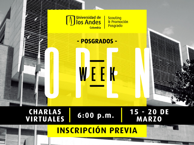 Open week 2021- Cider | Uniandes