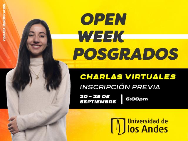 Open Week de posgrados - Cider | Uniandes
