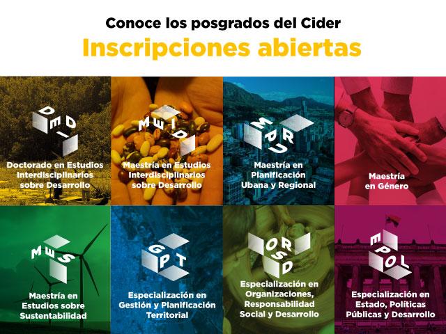 Conoce los posgrados del Cider | Uniandes