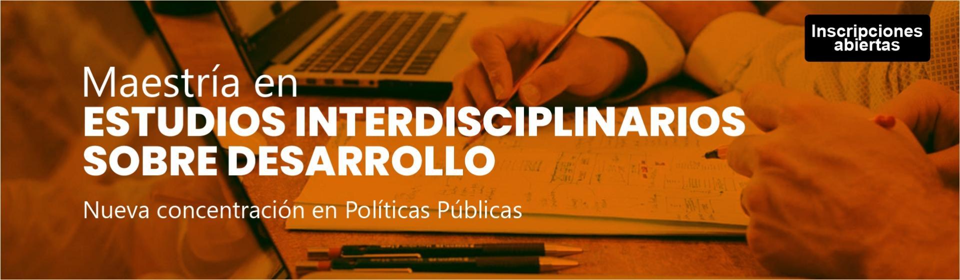 Maestría en Estudios Interdisciplinarios sobre Desarrollo- Cider   Uniandes