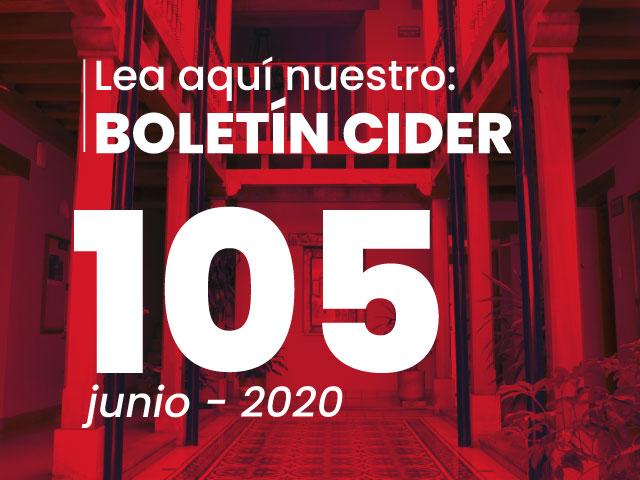 Boletín  No. 105   - Cider   Uniandes