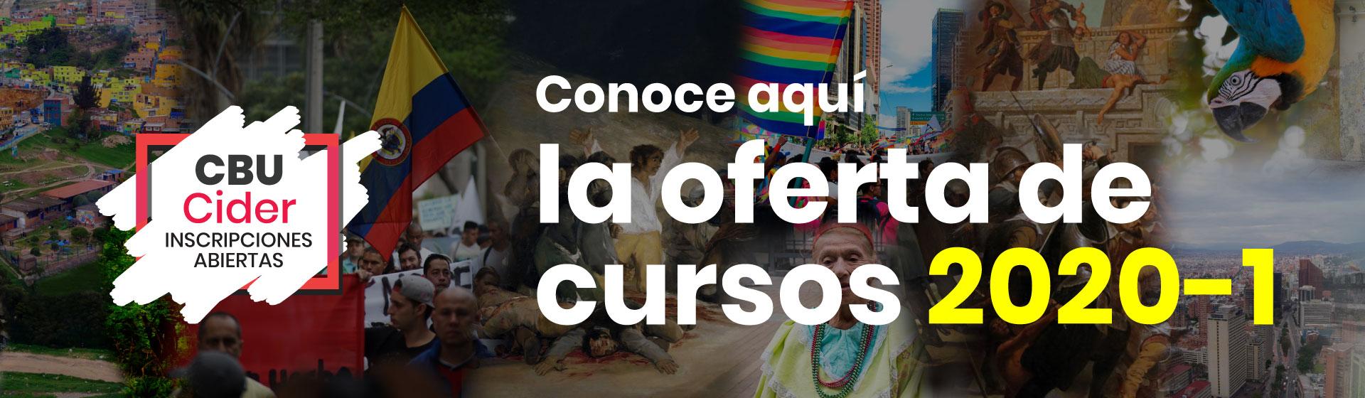 Cursos CBU 2020-1 de pregrado Cider | Uniandes