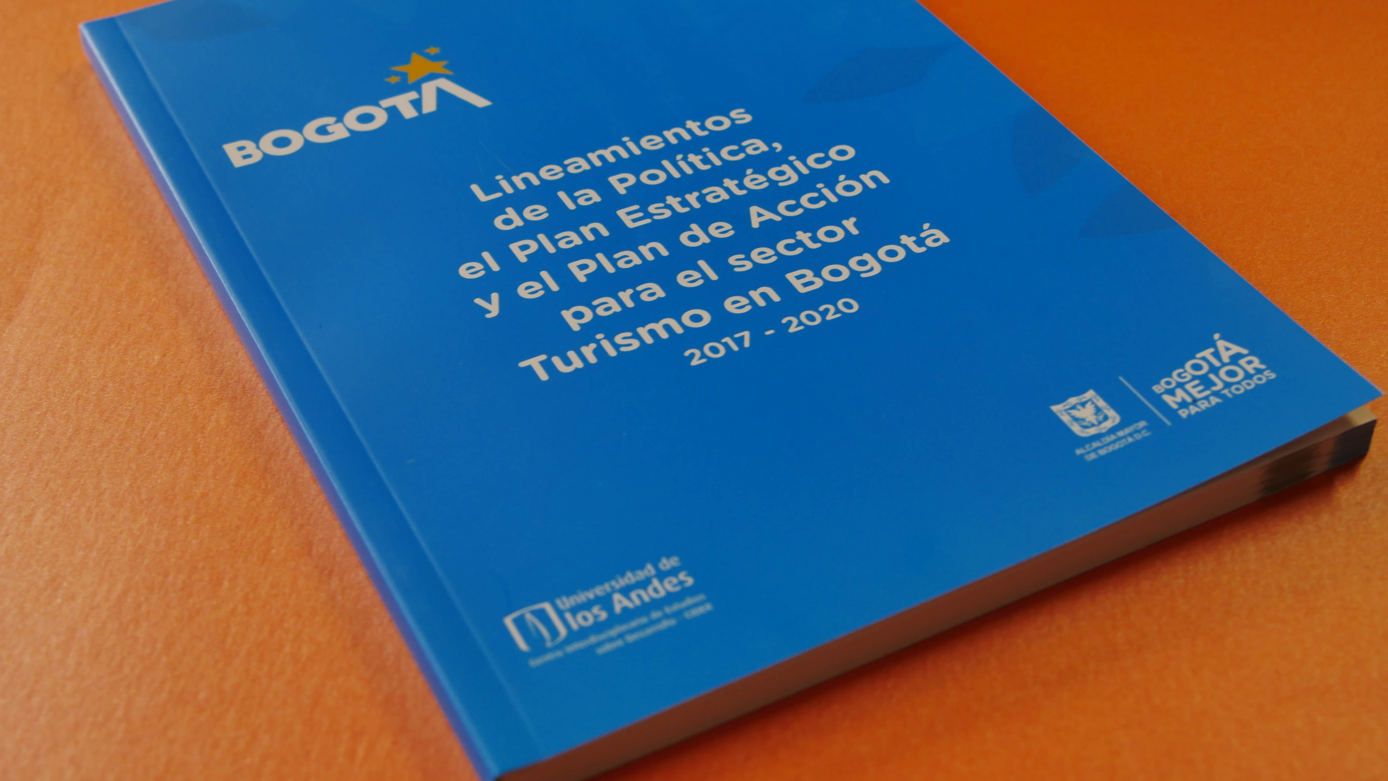 libro para el consejo de Bogotá en el desarrollo turístico - Cider   Uniandes