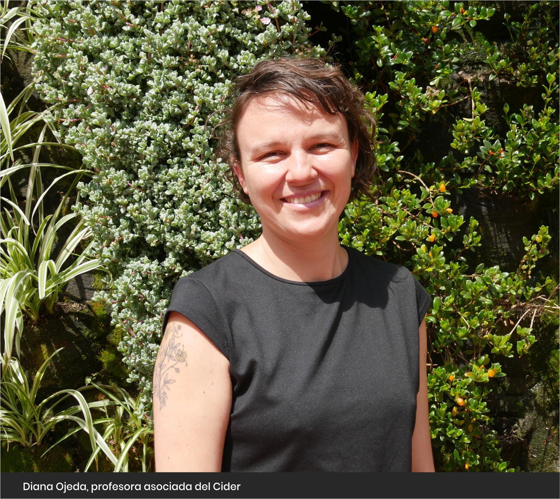 Diana Ojeda, profesora asociada del Cider | Uniandes