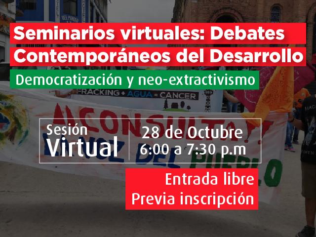 Democratización y neo-extractivismo- Cider | Uniandes