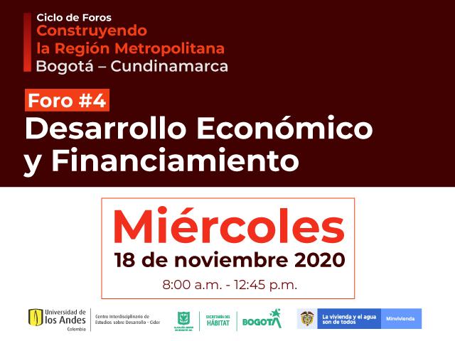 Foro #4 gobernanza metropolitana multinivel- Cider | Uniandes