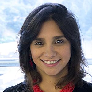 Diana Gómez Correal profesora asistente del Cider de la Universidad de los Andes