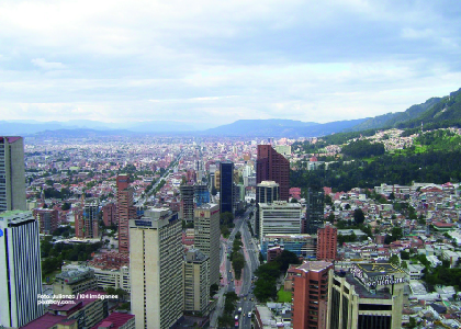 Foto panorámica Bogotá, Cider y el Imeplan establecen metodologías de hechos metropolitanos. - Cider | Uniandes