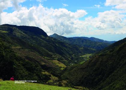 Foto panorámica rural. Formulación rural, regional y departamental que contienen planes de ordenamiento territorial. - Cider | Uniandes