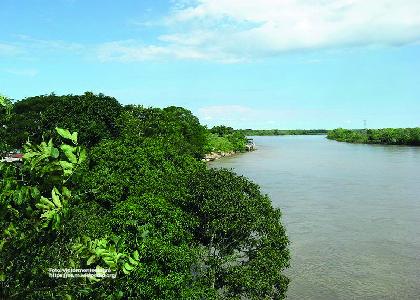 Foto panorámica Río Meta, Plan Básico de Ordenamiento territorial de Acacías, Meta -Cider | Uniandes