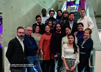 Foto equipo de investigación para la contribución de la ciencia, tecnología e innovación para el desarrollo regional. - Cider | Uniandes