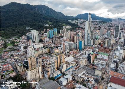 Foto panorámica de Bogotá formulación del plan regional en el marco del POT - Cider | Uniandes