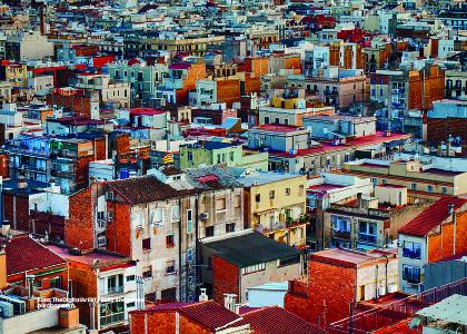 Foto panorámica ciudad. Inclusión y medición legal de procesos en planeación urbana. - Cider | Uniandes