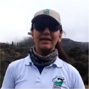 Oriana Serrano, estudiante de la Maestría en Estudios Interdisciplinarios sobre Desarrollo- Cider | Uniandes