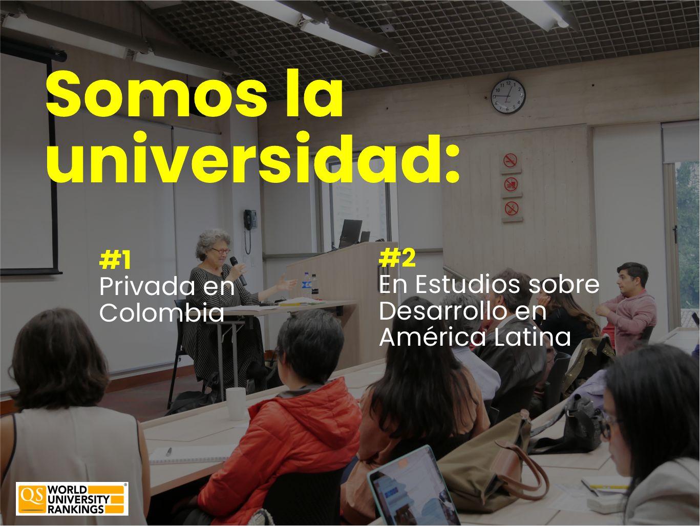Los Estudios de Desarrollo de la Universidad de los Andes son número 1 en Colombia Cider | Uniandes