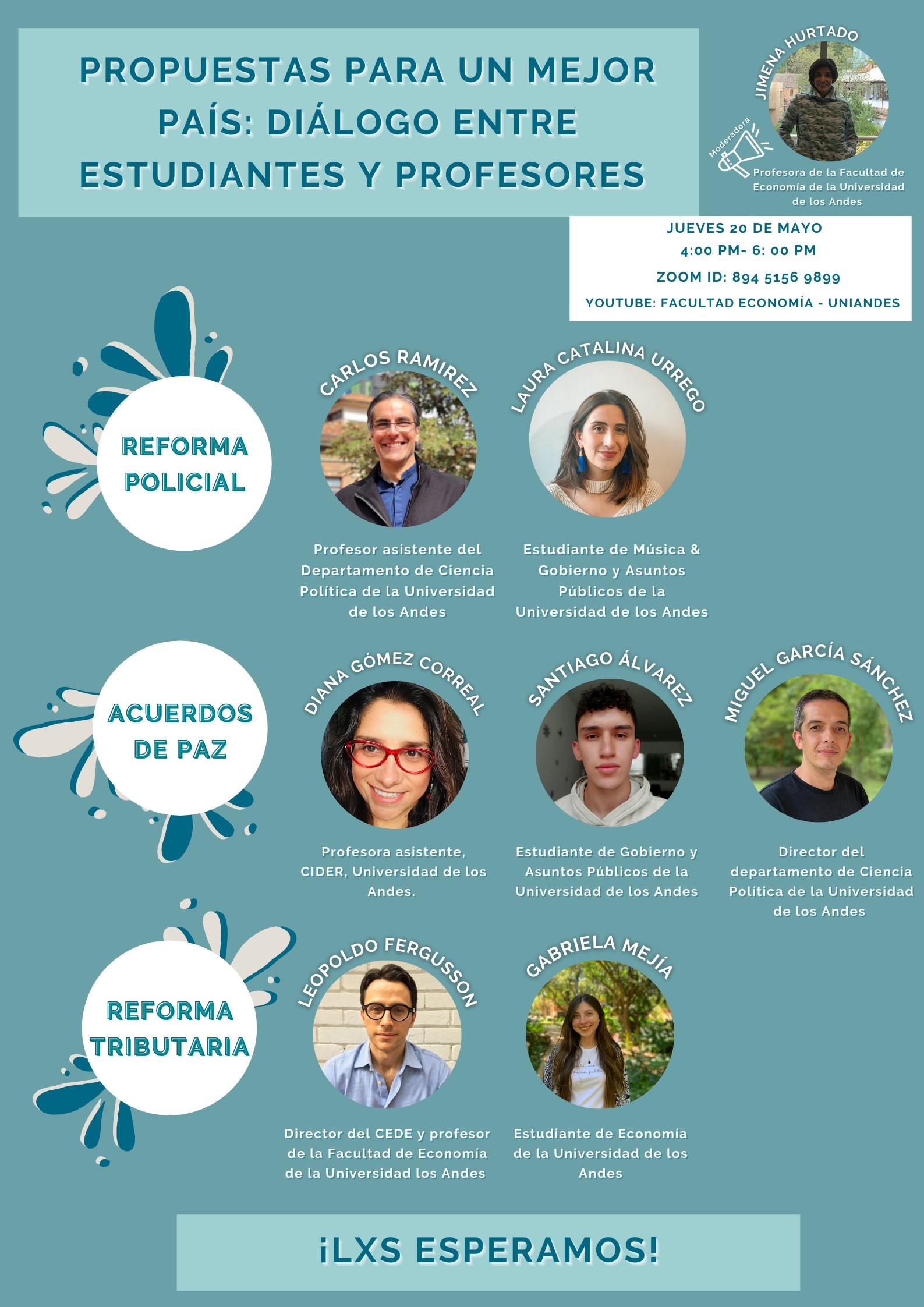 Diana Gómez propuso alternativas para exigir la implementación de los Acuerdos de Paz Cider | Uniandes