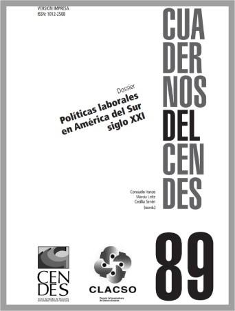 Artículo de revista Colombia: el sesgo antilaboral del modelo de desarrollo y las políticas de formalización