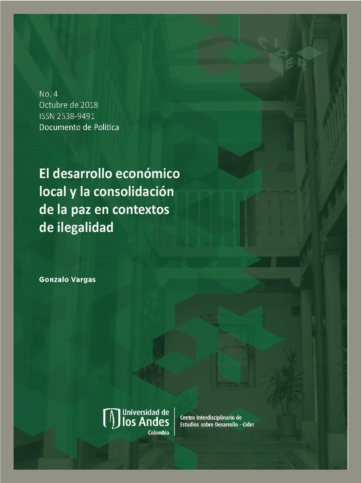 Documento de Política Documentos de Política Se nos va el cuidado, se nos va la vida: Migración, destierro, desplazamiento y cuidado en Colombia.