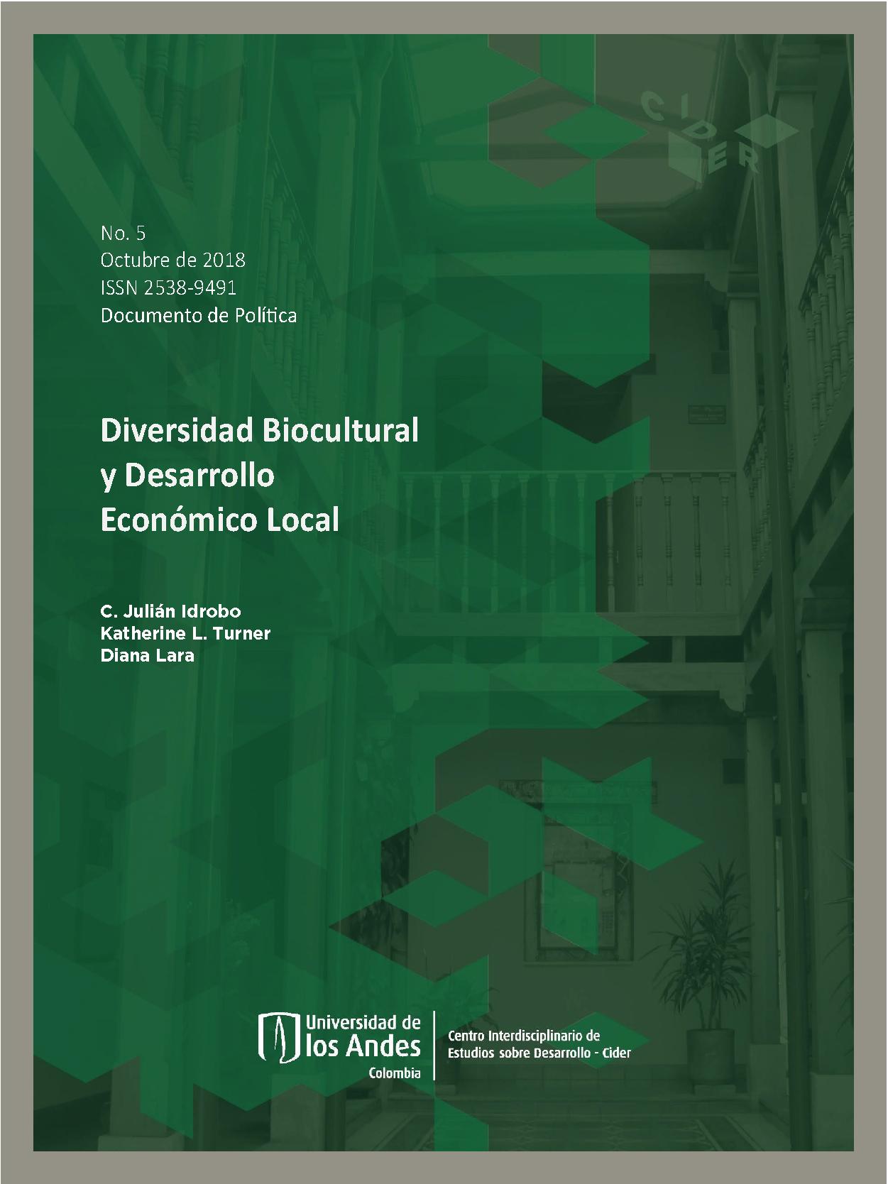 Documento de Política Diversidad Biocultural y Desarrollo Económico Local.