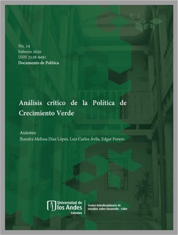 Análisis crítico de la Política de Crecimiento Verde- Cider | Uniandes