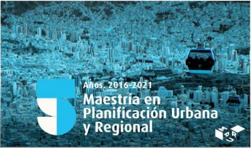 Maestría en Planificación Urbana y Regional- Cider | Uniandes