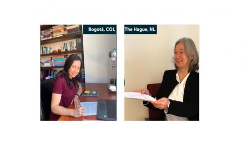 El Instituto Internacional de Estudios Sociales y el Cider renuevan acuerdo de colaboración académica - Cider   Uniandes