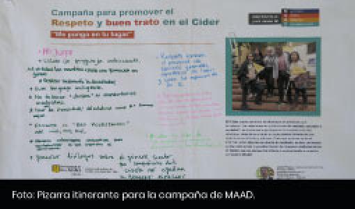 Pizarra-Campaña MAAD - Cider | Uniandes